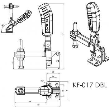 KF-017 DBL - Acier ou Inox