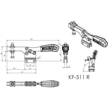 KF-511 R - Acier ou Inox