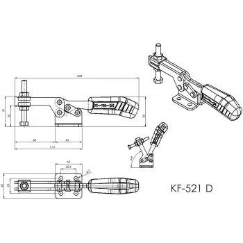 KF-521 D - Acier ou Inox